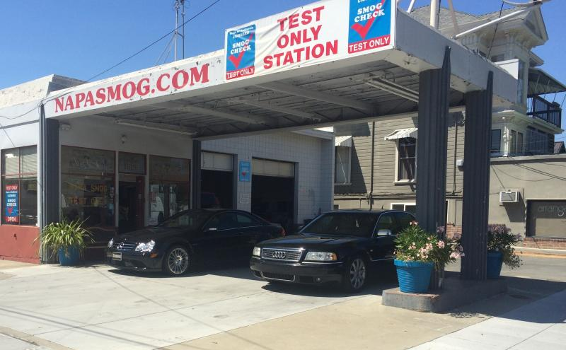 Smog Check for Audi S8 and Mercedes Benz