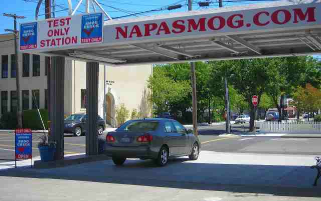Napa Smog Test Only in Napa California